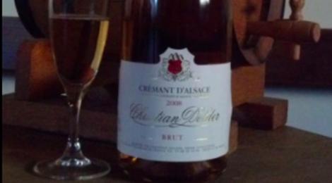 Christian Dolder. Crémant Rosé Brut d'Alsace