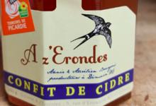 """Cidrerie """"A z' Erondes"""". confit de cidre"""