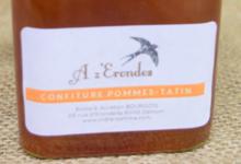 "Cidrerie ""A z' Erondes"". confiture pomme tatin"