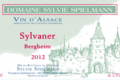 Domaine Spielmann Sylvie. Sylvaner