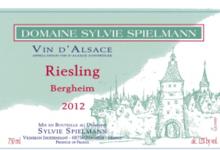 Domaine Spielmann Sylvie. Riesling