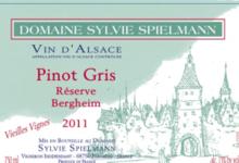 Domaine Spielmann Sylvie. Pinot gris vieilles vignes