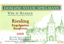 Domaine Spielmann Sylvie. Riesling Engergarden Bergheim