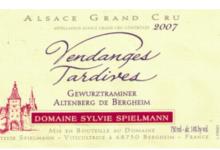 Domaine Spielmann Sylvie. Gewurtztraminer Altenberg vendanges tardives