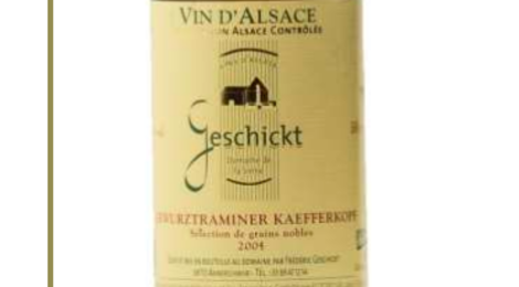 Domaine Geschickt - Gewurztraminer Grand Cru Kaefferkopf Sélection de Grains Nobles
