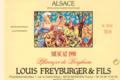 Domaine Louis Freyburger Et Fils. Muscat Brandhurst de Bergheim