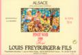 Domaine Louis Freyburger Et Fils. Pinot Noir Rosé