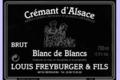 Domaine Louis Freyburger Et Fils. Crémant Blanc de Blancs