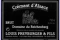 Domaine Louis Freyburger Et Fils. Crémant Domaine du Reichenberg
