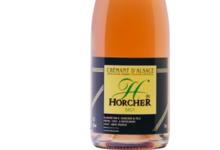 Vins d'Alsace Domaine Horcher. Crémant d'Alsace Rosé