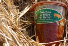 """La ferme des 3 châtaigniers. Coéchon al bière """"El Belle"""""""