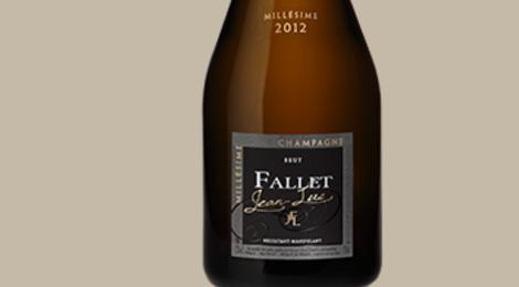 Champagne Fallet. Brut millésimé