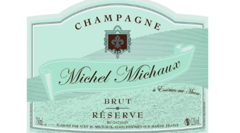 Champagne Michel Michaux. Champagne Brut Réserve