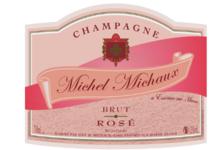 Champagne Michel Michaux. Champagne Brut Rosé