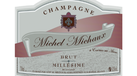 Champagne Michel Michaux. Champagne Brut Millésimé