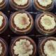 tartelettes chocolat/chantilly pistache