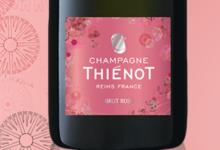 Champagne Thienot. Rosé de Printemps