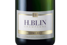 Champagne H Blin. Demi sec