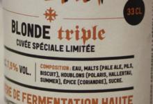 Brasserie la Bèstia. Blonde triple