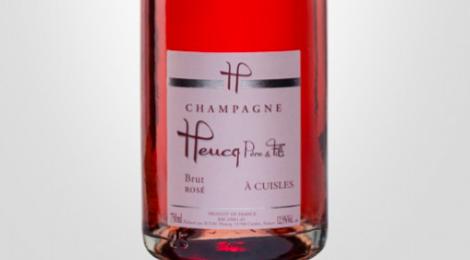 Champagne Heucq Père & Fils. Brut rosé