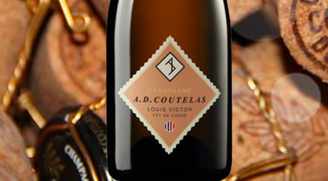 Champagne AD Coutelas. Louis Victor