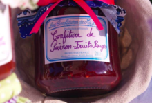 Les Confitures de Ma Douce. confiture de poivron fruits rouges