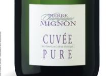 Champagne Pierre Mignon. Cuvée pure. Zéro dosage