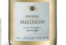Champagne Pierre Mignon. Blanc de blancs grand cru