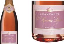 Champagne Veuve Maurice Lepitre. Brut rosé