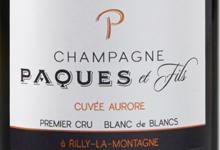 Champagne Paques Et Fils. Cuvée Aurore. Premier cru. Blanc de blancs