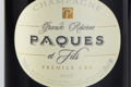 Champagne Paques Et Fils. Grande réserve. Premier cru