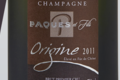 Champagne Paques Et Fils. Origine 2011. Premier cru élevé en fût de chêne