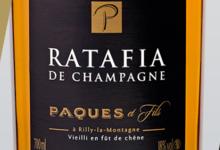 Champagne Paques Et Fils. Ratafia