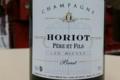 Champagne Horiot, père et fils.  Champagne Brut Tradition