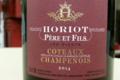 Champagne Horiot, père et fils. Coteaux Champenois