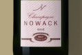 Champagne Nowack. Champagne brut rosé