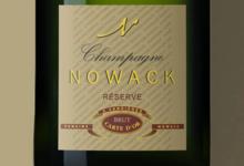 Champagne Nowack. Champagne brut Réserve