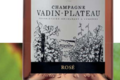 Champagne Vadin-Plateau. Champagne Rosé
