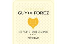 Champagne Guy de Forez. Champagne Réserve