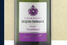 Champagne Jacques Defrance. Champagne brut excellence
