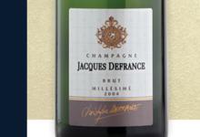 Champagne Jacques Defrance. Champagne brut millésimé