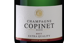 Champagne Marie Copinet. Brut Extra Quality