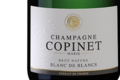 Champagne Marie Copinet. Brut Nature Blanc de blancs