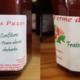 La Ferme Des Paziers. confiture de fraise abricot rhubarbe