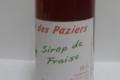 La Ferme Des Paziers. sirop de fraise