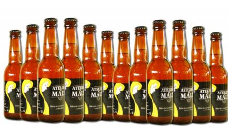 Atelier du malt. Bière Blonde La Belle Blonde