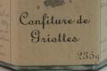 Les Délices de Fannette. Confiture de Griottes