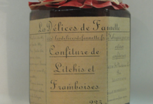 Les Délices de Fannette. Confiture de Litchis Framboises