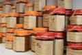 Les Délices de Fannette. Confiture de Rhubarbe Abricots et Fraises