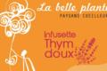 La Belle Plante. Paysans cueilleurs. Infusette thym doux